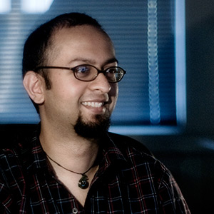Course instructor and animation mentor Jalil Sadool